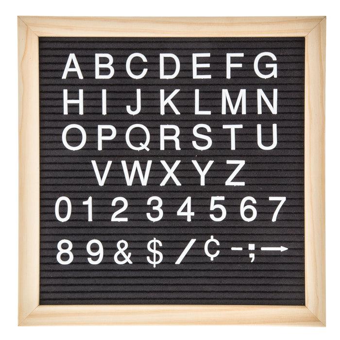 Letter Board Accessories Custom Words Custom Font Number 6
